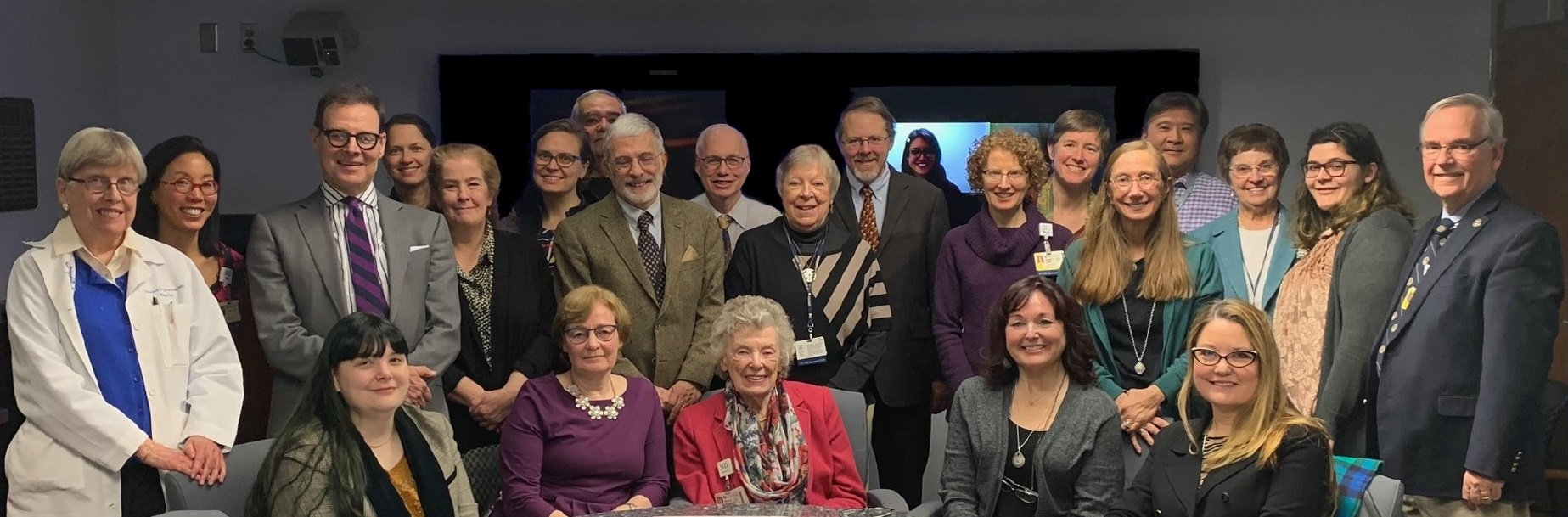 Family, friends and colleagues gathered together in January to celebrate Dr. Lawrence's (pictured center) career as she transitioned to Professor Emeritus.